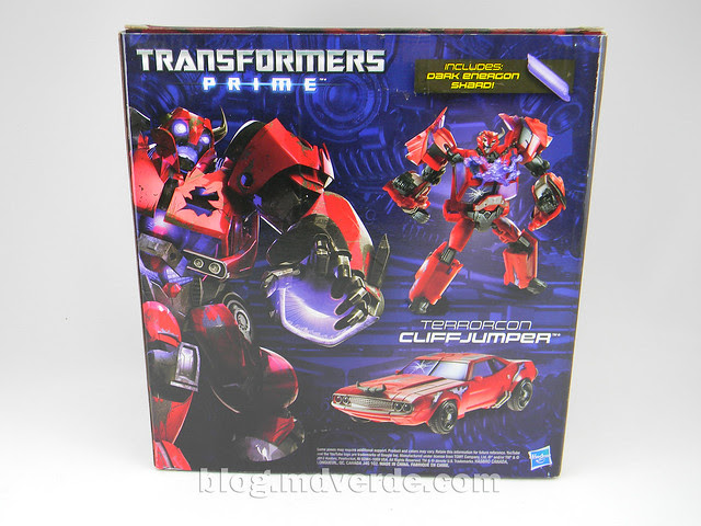 Transformers Terrorcon Cliffjumper Rust In Piece Deluxe - Prime SDCC - caja