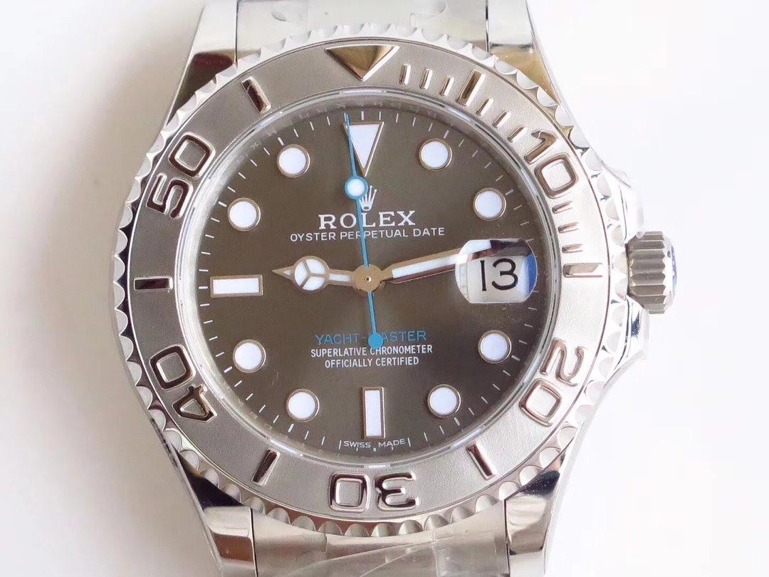 Replica Rolex YachtMaster Grey 268622