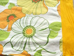 Thrifted pillow case