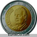 Moneda de 2 euros de España (1a edicion)