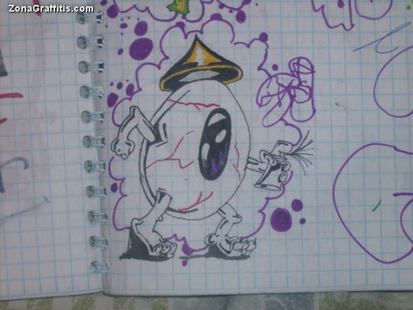 Graffitis Para Portadas De Cuadernos Imagui