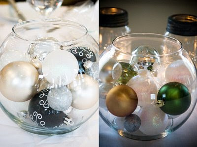 1. Christmas Centerpieces... - 5 Very Cool Winter Wedding Ideas ...