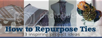 33 recycled tie projects that inspire