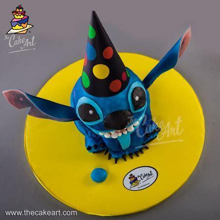 Pastel de Stitch (3D) ? Stitch cake   thecakeart.com