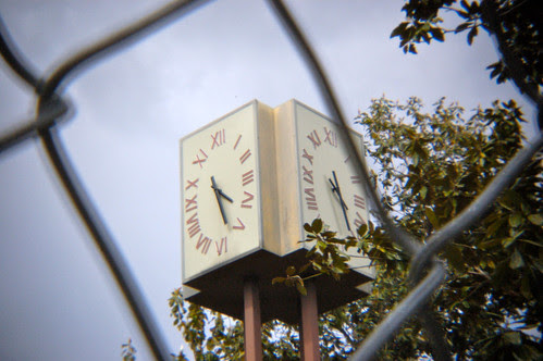 Time behind the fence