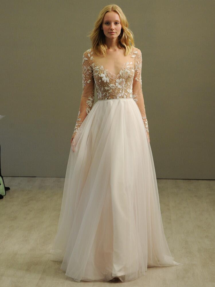 hayley paige wedding dresses bridal fashion week photos