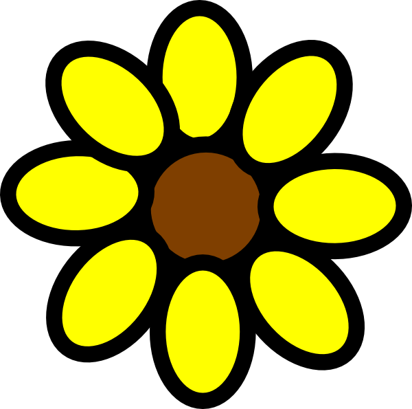 Sunflower Clipart Clipart Panda Free Clipart Images
