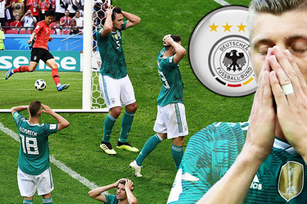 8acab7cc1cb Germany OUT of World Cup LIVE reaction: Holders eliminated by South Korea  in group stages