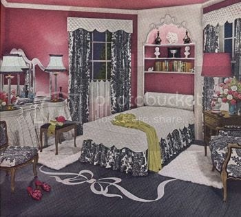 Chronically vintage the marvellously black and white and for 1940s bedroom ideas