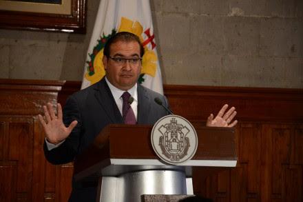 Javier Duarte, gobernador de Veracruz. Foto: Rubén Espinosa