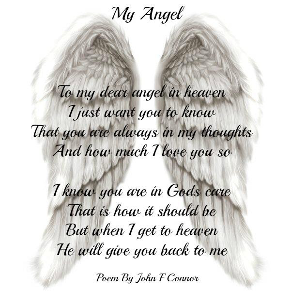 Best 50+ Missing My Angel In Heaven Quotes - Paulcong