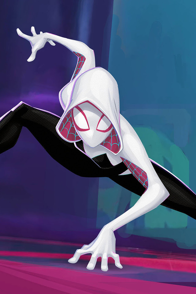 640x960 Gwen Stacy In Spiderman Into The Spider Verse Iphone 4
