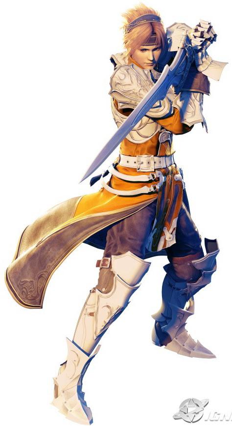 sigmund infinite undiscovery Top 20 personagens masculinos mais bonitos dos games