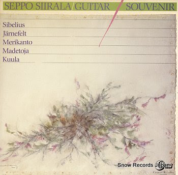 SIIRALA, SEPPO guitar souvenir