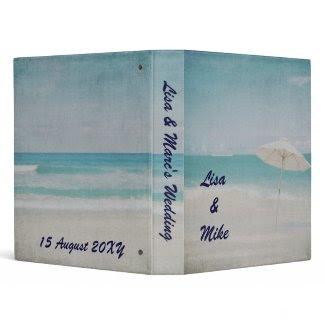 Wedding Planner beach binder