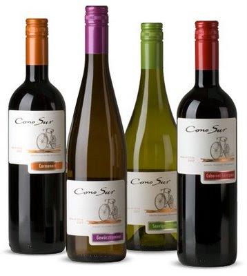 The Gaijin Gourmet recommends Cono Sur Wine