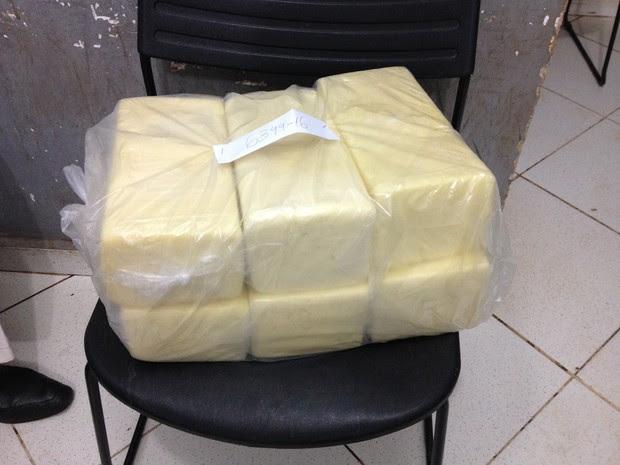 Suspeito foi preso por roubar R$ 600 em queijo em Porto Velho (Foto: Matheus Henrique/G1)