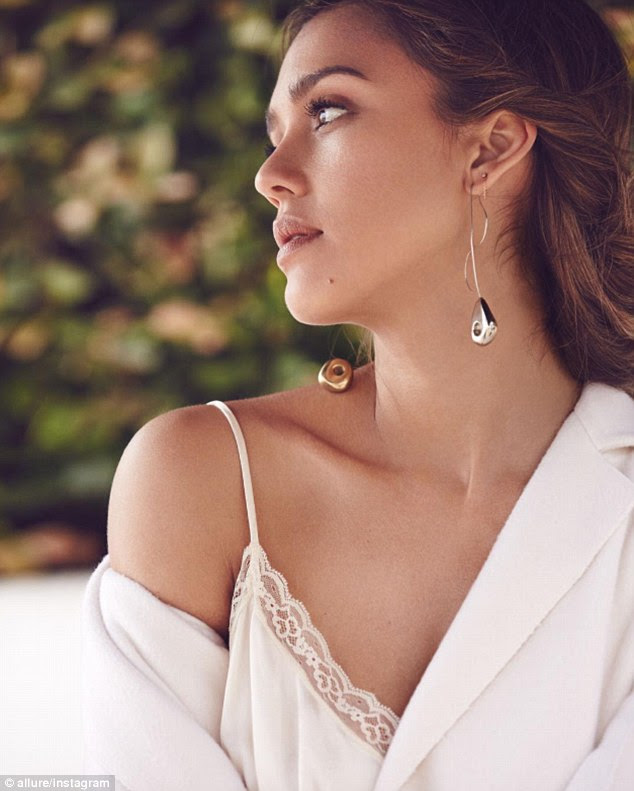 Tat's not her style now: In the September issue of Allure, Jessica Alba revealed she regrets having gotten her tattoos