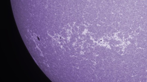 ar11823 ar11822 caK colour by Mark Townley