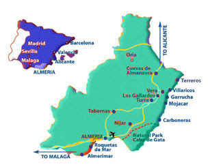 Almerimar in der Provinz Almeria