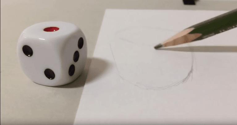 目の錯覚簡単につくれるトリックアート3dアートの描き方 Crepo