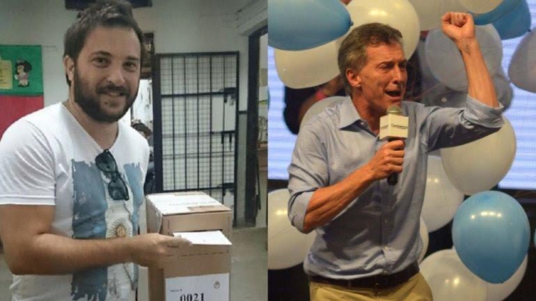Diego Brancatelli y Mauricio Macri