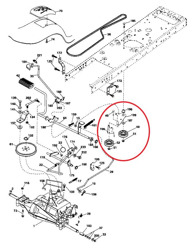 35 Craftsman Lt2000 Parts Diagram