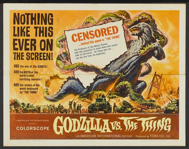 Godzilla vs. the Thing (American International, 1964) 2