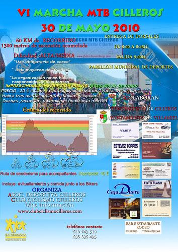 ruta MTB cartel 2010