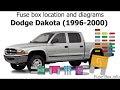 Download 2003 Dodge Dakota 4X4 Fuse Diagram Background