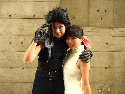 Female Zack and Aeris