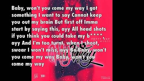 My Way Lyrics Fetty Wap Clean
