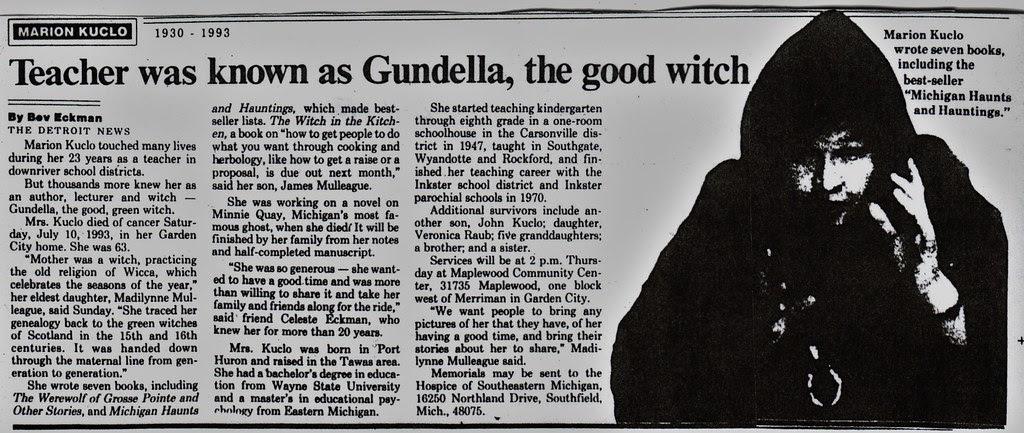 Gundella Obituary