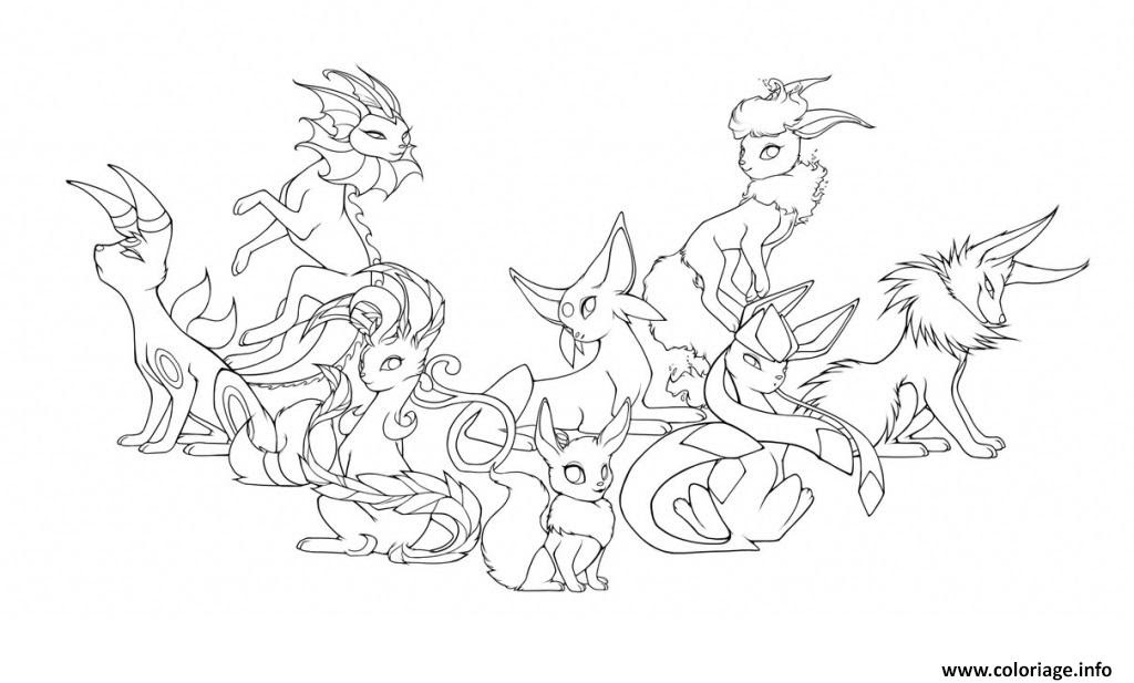21 Images Coloriage Pokemon Evolution