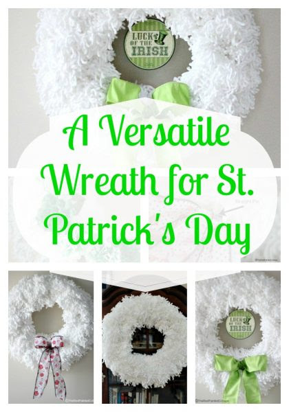 The Red Painted Cottage Versatile Wreaths For St Patricks Day