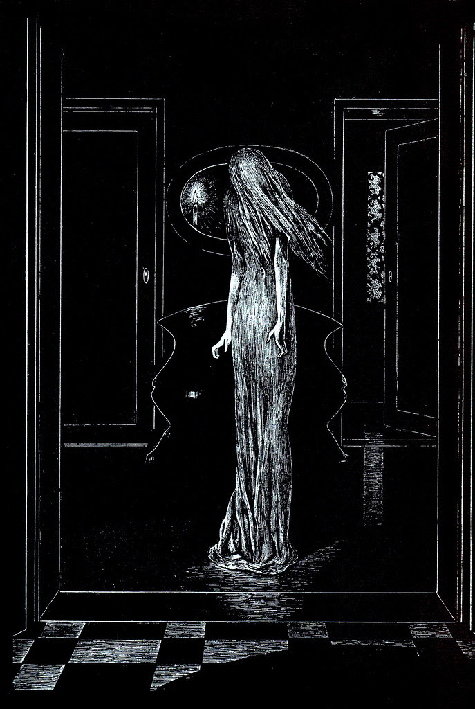 Alberto Martini - Edgar Allan Poe Illustration 5