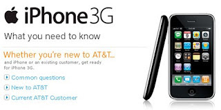AT&T Dishes iPhone 3G Info