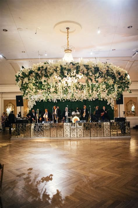 Wedding Ideas: Floral Chandeliers & Ceiling Installations