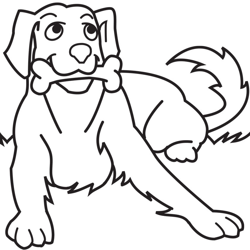 Dog Coloring Pages Hd Wallpaper Download Free Images Wallpaper