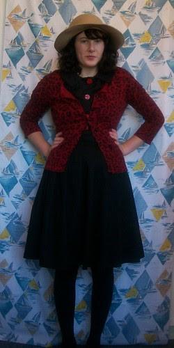 Butterick 9405 + self-drafted skirt