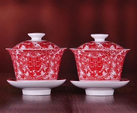 chinese wedding tea ceremony set   Chinese Customs n