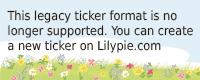 Lilypie 1st Birthday Ticker