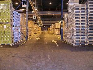Warehouse, Green Logistics Co., Kotka, Finland