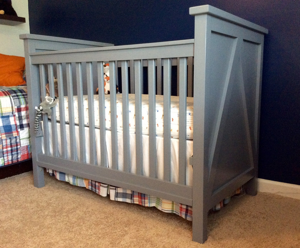 Ana White   Crib for Baby #3 - DIY Projects
