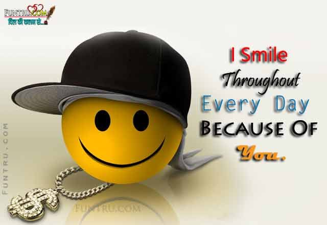 I Smile Throughout Smile Quotes Hindi Quotes