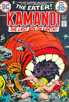 "Kamandi Comic by Jack ""The King"" Kirby"