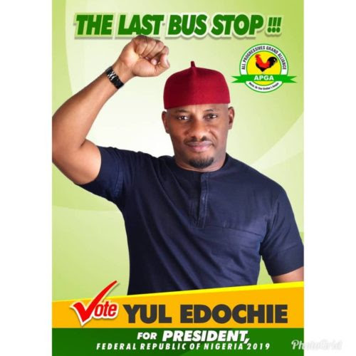 Nollywood Actor, Yul Edochie Declares Intention To Become The Next President Of Nigeria In 2019