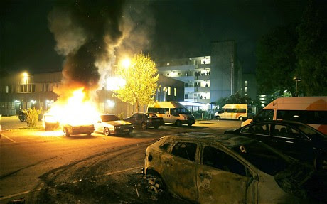 Rebellions have swept Sweden for a week. The unrest is illustrating the problems of national discrimination and the European economic crisis. by Pan-African News Wire File Photos