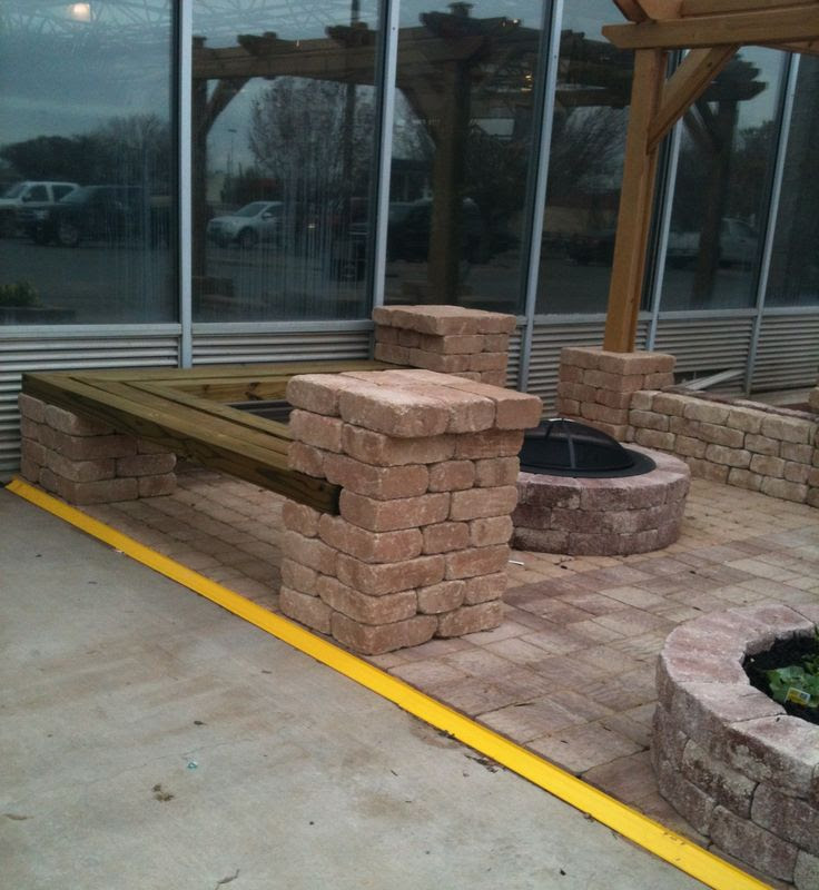 Seating around Fire Pit Area