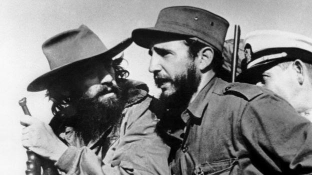 Camilo Cienfuegos y Fidel Castro